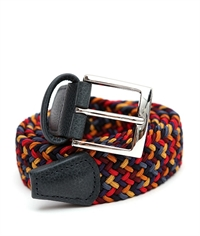 ANDERSONS ITALIAN STRETCH BELT-belts-Digbys Menswear