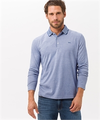 BRAX LS POLO-ruggers-and-tops-Digbys Menswear