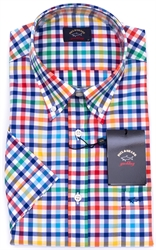 PAUL & SHARK SS SHIRT-shirts-short-sleeve-Digbys Menswear